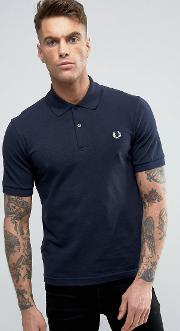 fred perry reissues polo the original m3 pique  navy
