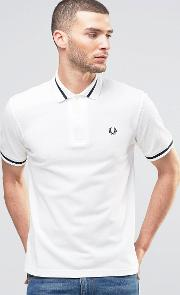 Polo Shirt Single Tipped Pique  Slim Fit
