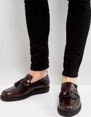 X George Cox Leather Tassel Loafers