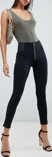 shaping effect 6 way stretch smoothing high waist trouser