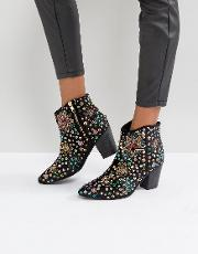 cosmic embellished boots