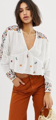 Embroirdered Blouse