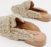 Faux Shearling At Ease Loafer