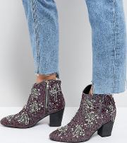 festival ankle boots