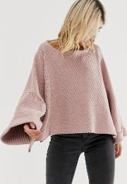 I Cant Wait Slouchy Jumper