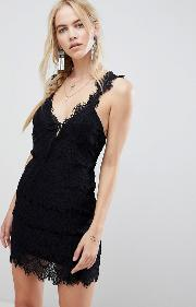 Night Moves Lace Dress