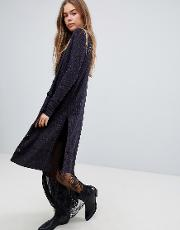 Sparkly Long Cardigan