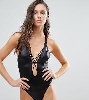 Strappy Back Swimsuit