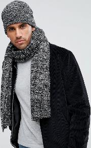 Marble Knit Scarf