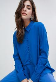 Skya Buttoned Blouse