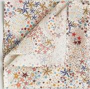 liberty print adelajda star pocket square