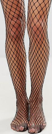 large scale fishnet tights