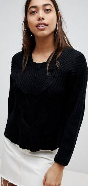 Cable Front Detail Jumper