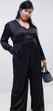 Premium Wide Leg Jumpsuit