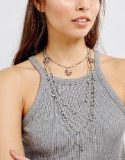delicate layering chokers