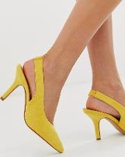 Exclusive Sling Back Heeled Shoes