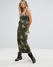 g star be raw camo tank dress