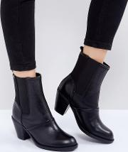 G Star Block Heeled Ankle Boot
