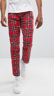 G Star Elwood 5622 X 25 Pharrell Jeans In Royal Tartan