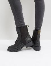 g star military lace up boot