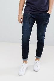 G Star Powel Super Slim Jean 3d Cobler Processed