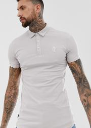 Jersy Muscle Fit Polo Shirt