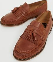 Wide Fit Alloa Woven Loafers