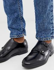 Wide Fit Rye Monk Shoes