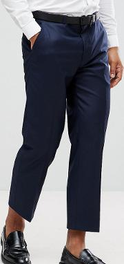 Tapered Cropped Trouser