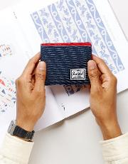 . roy bi fold & coin wallet with rfid