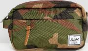 chapter carry on wash bag in camo 3l