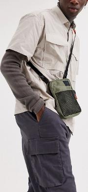 Sinclair Cross Body Bag Olive Camo 1.5l