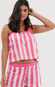 Stripe Cami Pyjama Set