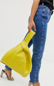 Hill And Friends Happy Shopper Leather Bag