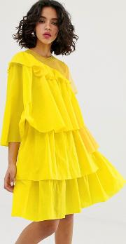 Rip Stop Extreme Frill Dress