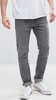 washed grey skinny jeans