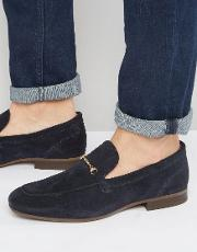 navarre suede loafer shoes