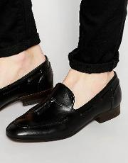 pierre leather loafers