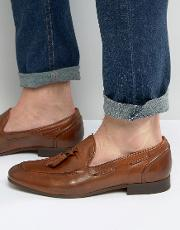 pierre leather smart loafers