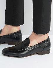 reyes leather loafers