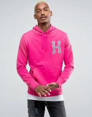 Hoodie With Reflective Applique Logo