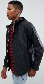 original lightweight rubberised bomber  black