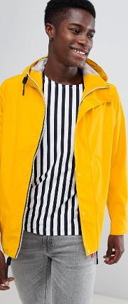 original lightweight rubberised bomber  yellow