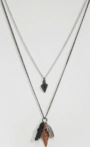 feather necklace pack