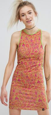 Paisley Bodycon Dress