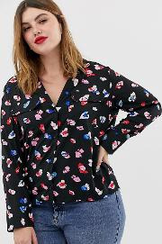 Pyjama Shirt With Pockets