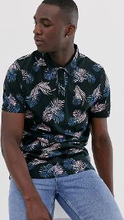 Polo With Floral Print