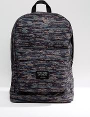 backpack in camo