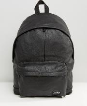 backpack in faux leather