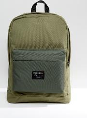 backpack in green